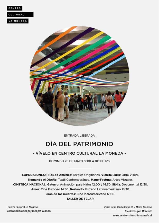 D a del patrimonio cultural 2013 en la comuna de santiago - Centro hipotecario bbva ...